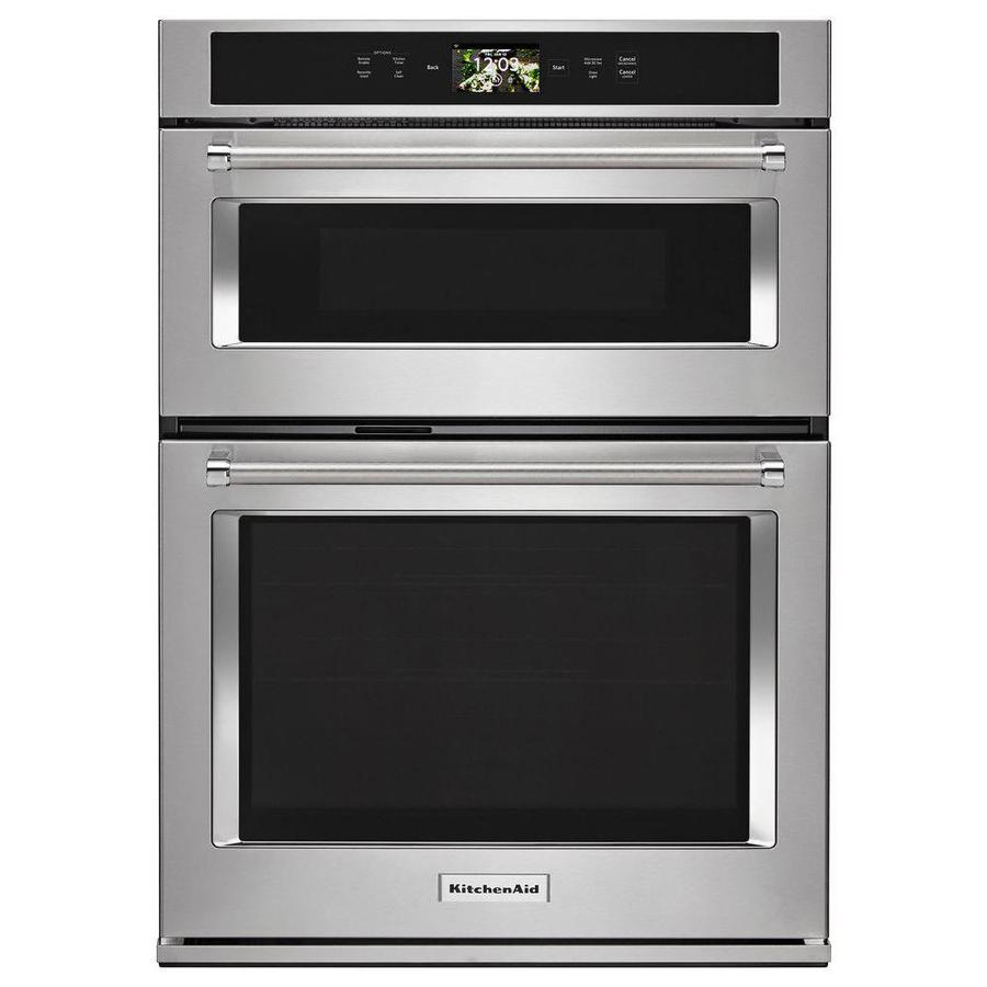 Lowes Paint App >> KitchenAid Self-Cleaning Convection Microwave Wall Oven ...