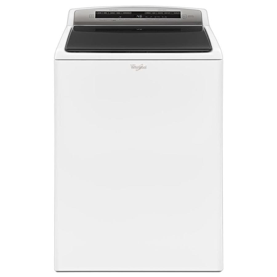 Whirlpool 4.8-cu ft High-Efficiency Top-Load Washer (White)