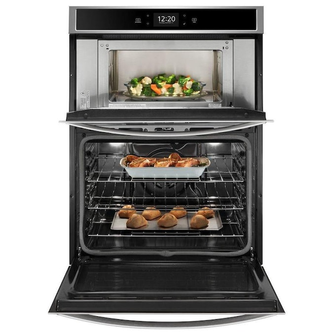 Whirlpool Wall Oven Microwave Combo: Whirlpool Self-Cleaning Convection Microwave Wall Oven
