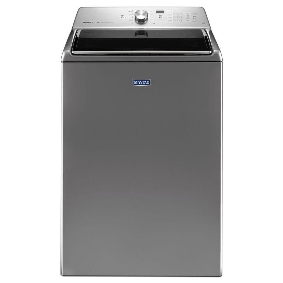 Shop maytag 5 3 cu ft high efficiency top load washer - Maytag whirlpool ...
