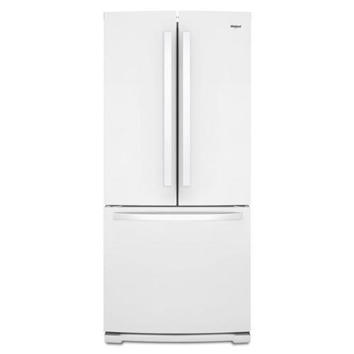 Whirlpool 19 6-cu ft 3-Door Standard-Depth French Door Refrigerator