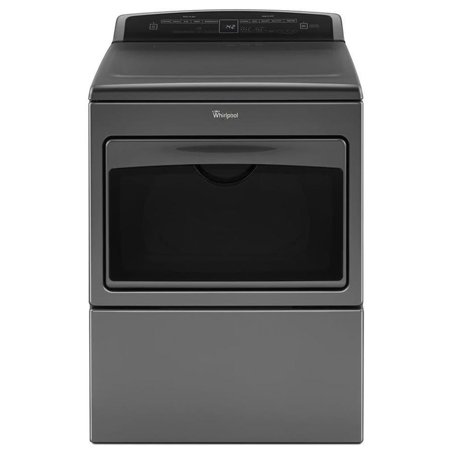Whirlpool 7.4-cu ft Electric Dryer (Chrome Shadow)