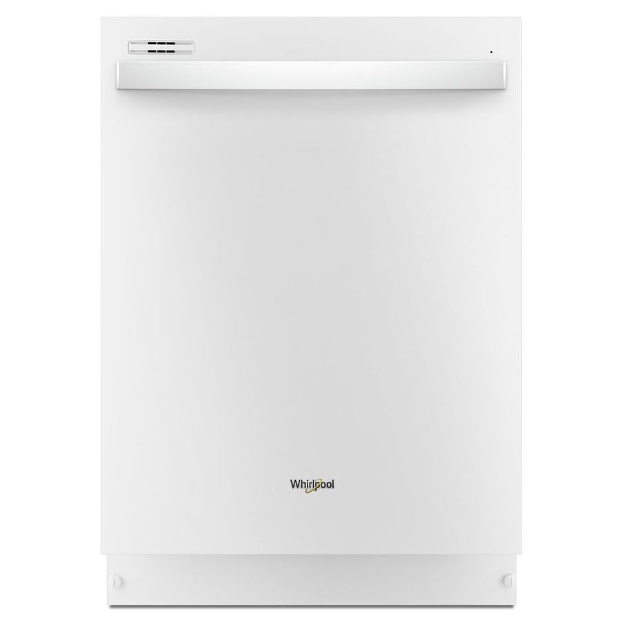 Whirlpool 51-Decibel Built-In Dishwasher (White) (Common: 24-in; Actual: 23.875-in) ENERGY STAR