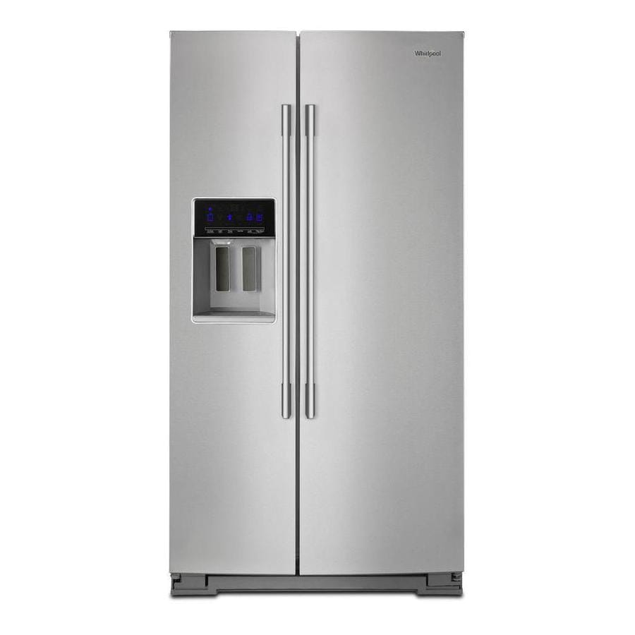 Whirlpool 28.5-cu Ft Side-by-Side Refrigerator With Ice