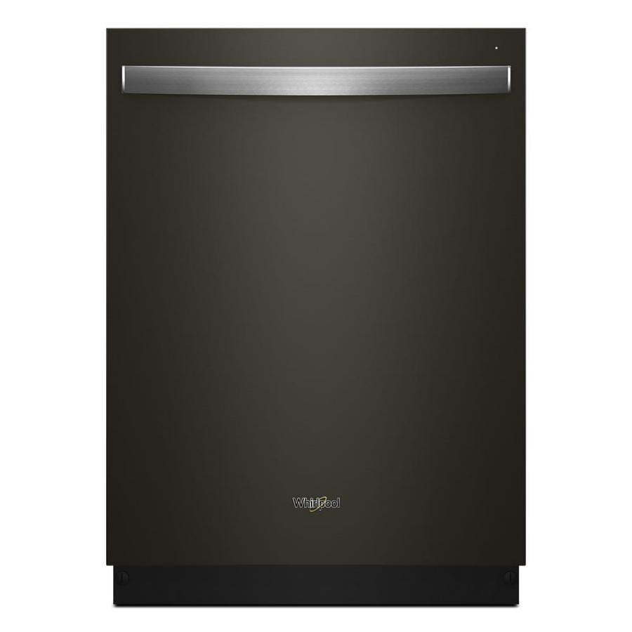 Shop Samsung 55 Decibel Built In Dishwasher Stainless: Shop Whirlpool 51-Decibel Built-In Dishwasher (Fingerprint
