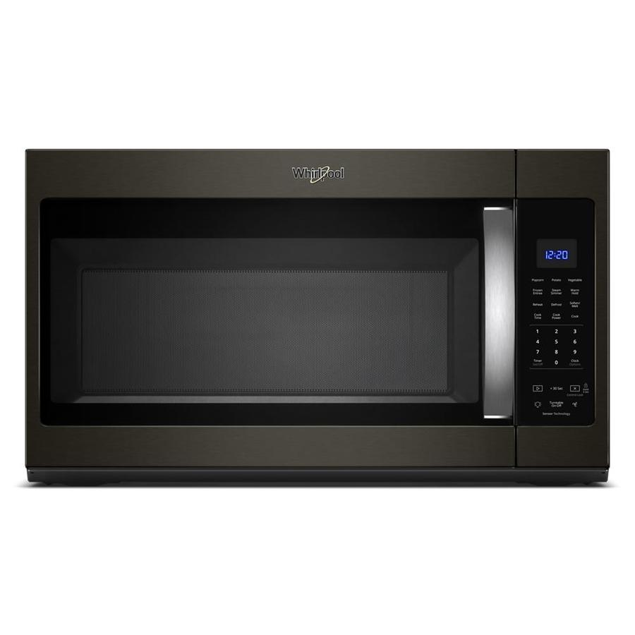 Whirlpool 1.9-cu ft Over-the-Range Microwave with Sensor Cooking  (Fingerprint