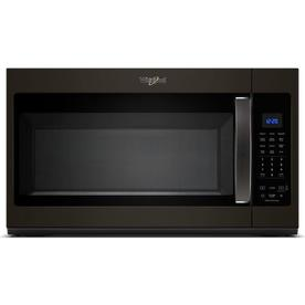 Whirlpool 1 9 Cu Ft Over The Range Microwave With Sensor Cooking Controls