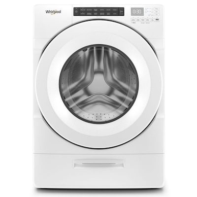 Whirlpool Load & Go 4.5-cu ft High Efficiency Stackable Front-Load Washer (White) ENERGY STAR