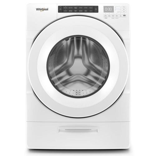 Whirlpool Load & Go 4.5-cu ft High Efficiency Stackable Front-Load Washer (White) ENERGY STAR at Lowes.com