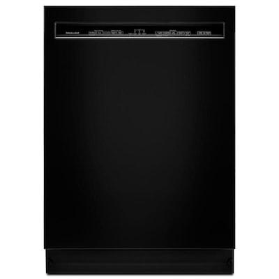 Kitchenaid 46 Decibel Built In Dishwasher Black Common