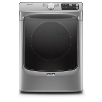 Maytag 7 3-cu ft Stackable Electric Dryer (Metallic Slate