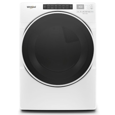 Whirlpool 7 4-cu ft Stackable Gas Dryer (White) ENERGY STAR