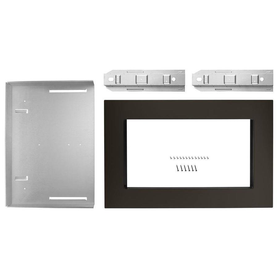 Whirlpool Countertop Microwave Trim Kit (Black Stainless Steel)