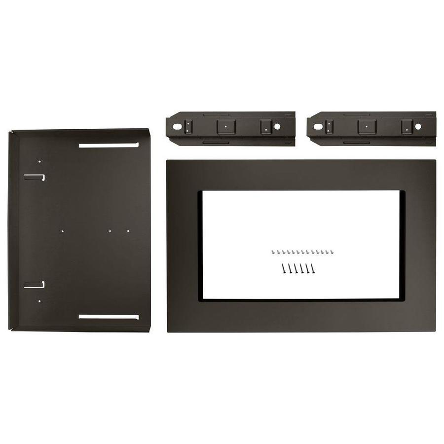 Whirlpool Countertop Microwave Trim Kit Black Stainless Steel