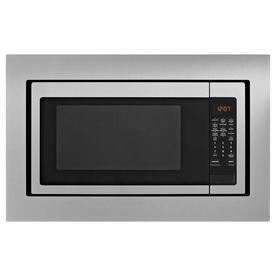 Whirlpool 2 Cu Ft 1700 Watt Countertop Microwave Fingerprint Resistant Stainless Steel