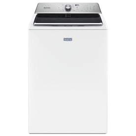 Maytag 5.2-cu ft High Efficiency Top-Load Washer (White)