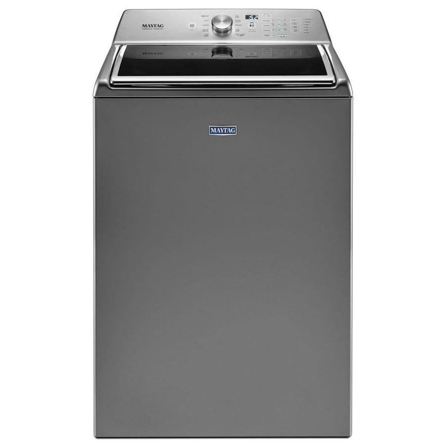 Shop maytag 5 2 cu ft high efficiency top load washer with - Maytag whirlpool ...