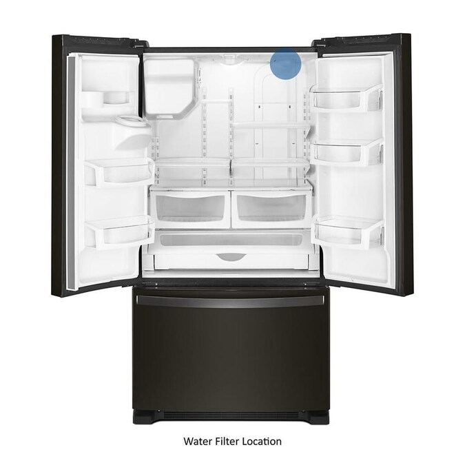 Whirlpool 24.7-cu Ft French Door Refrigerator With Ice