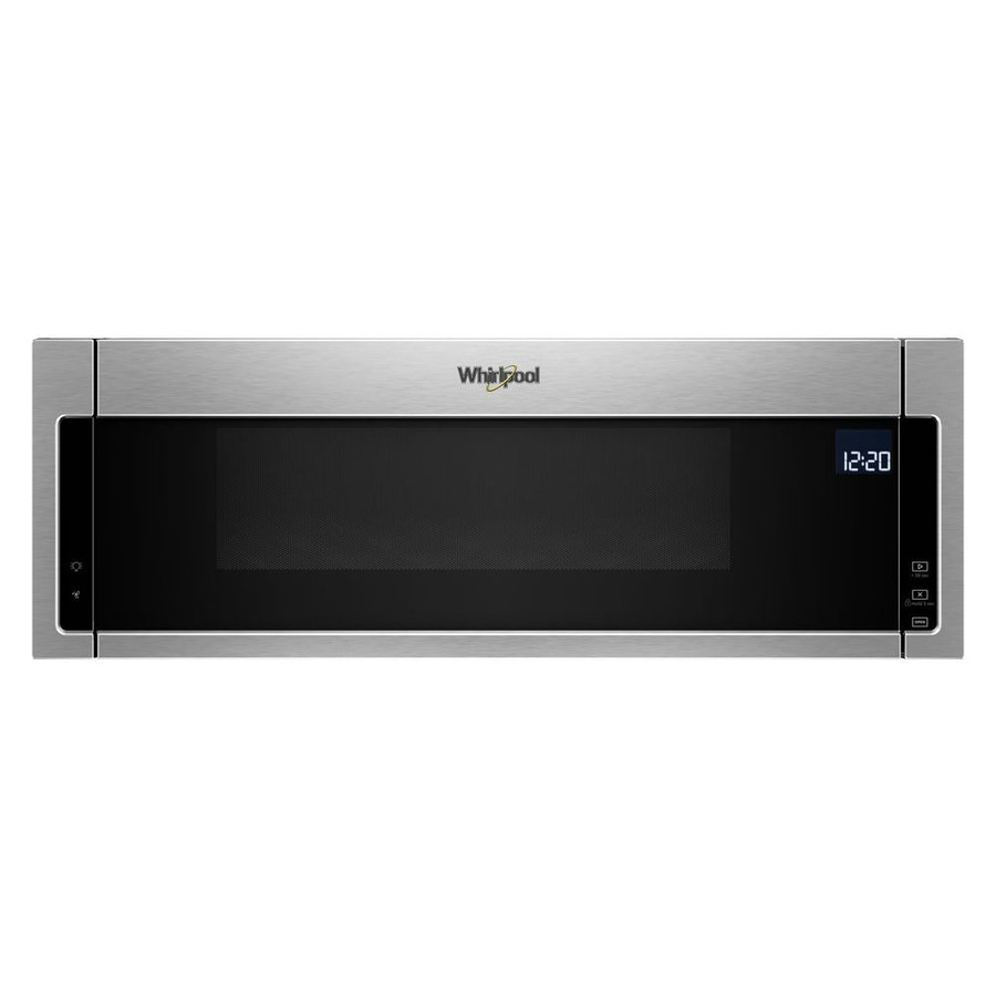 Whirlpool 1 Cu Ft Low Profile Over The Range Microwave With Sensor Cooking