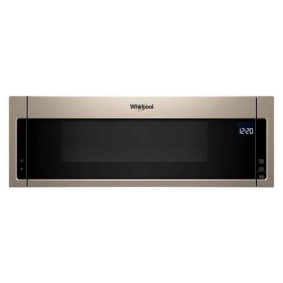 Whirlpool 1 1 Cu Ft Over The Range Microwave With Sensor