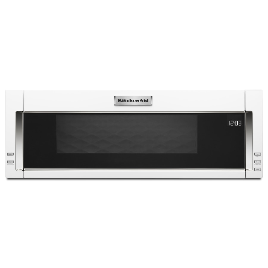 Kitchenaid 1 1 Cu Ft Over The Range Microwave With Sensor
