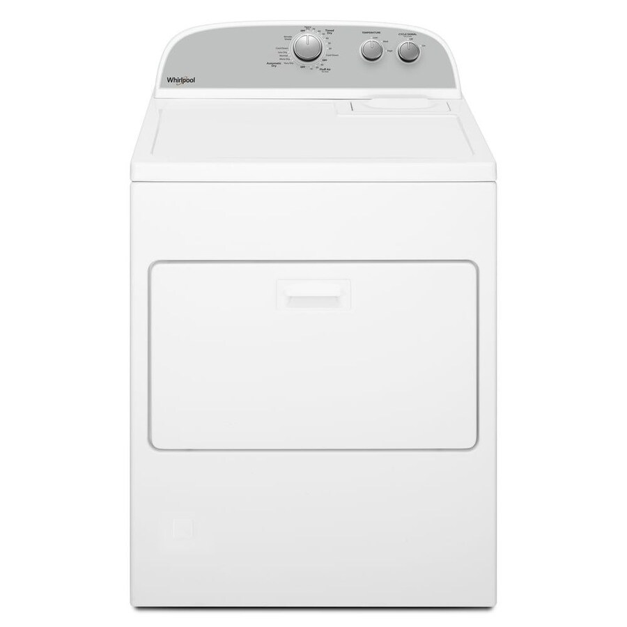 Whirlpool 7 0 Cu Ft Hamper Electric Dryer White At Lowes Com
