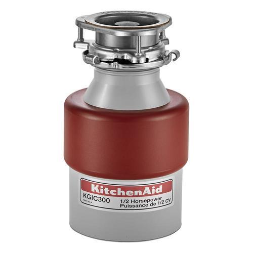 Kitchenaid 1 2 Hp Continuous Feed Garbage Disposal At