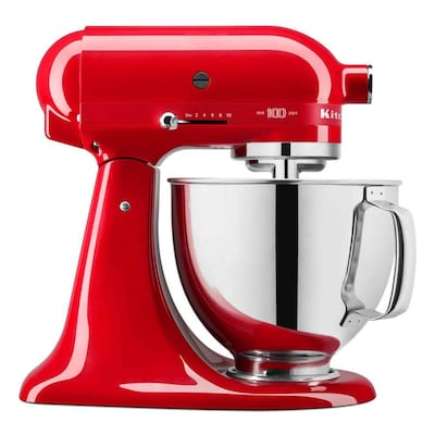 KitchenAid Queen of Hearts Stand Mixer, Passion Red
