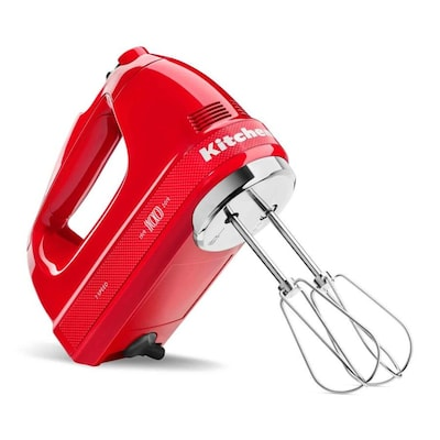 KitchenAid Queen of Hearts Hand Mixer, Passion Red