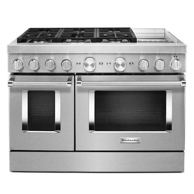 Kitchenaid Smart 6 Burners 4 1 Cu Ft 2