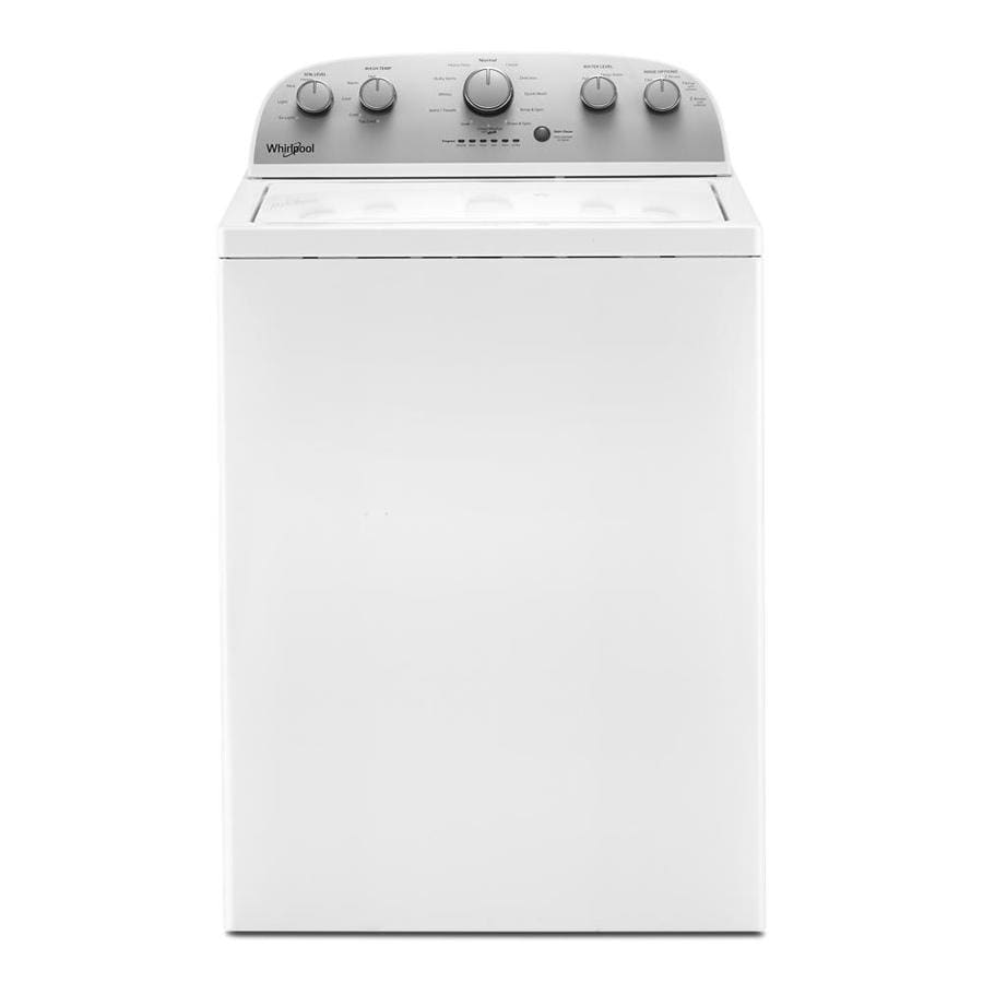 Whirlpool 9.9-cu ft High Efficiency Top-Load Washer (White)