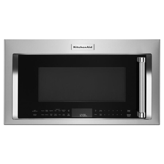 kitchenaid 1.9-cu ft over-the-range convection microwave