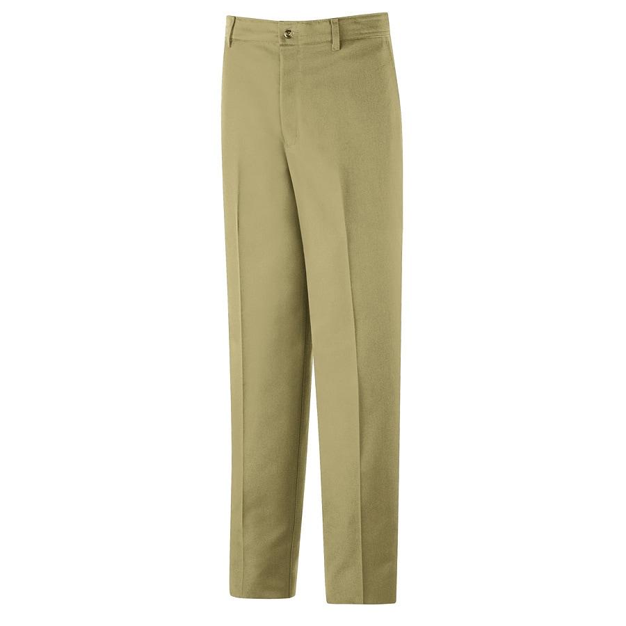 Red Kap Men's 42 x 32 Khaki Twill Work Pants