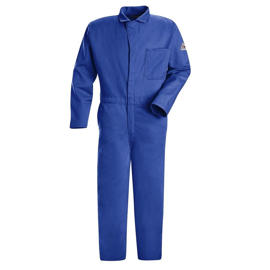 Bulwark 50 Men's Royal Blue Long Coveralls