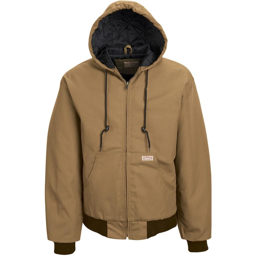 Red Kap XX- Large Unisex Brown Duck Work Jacket