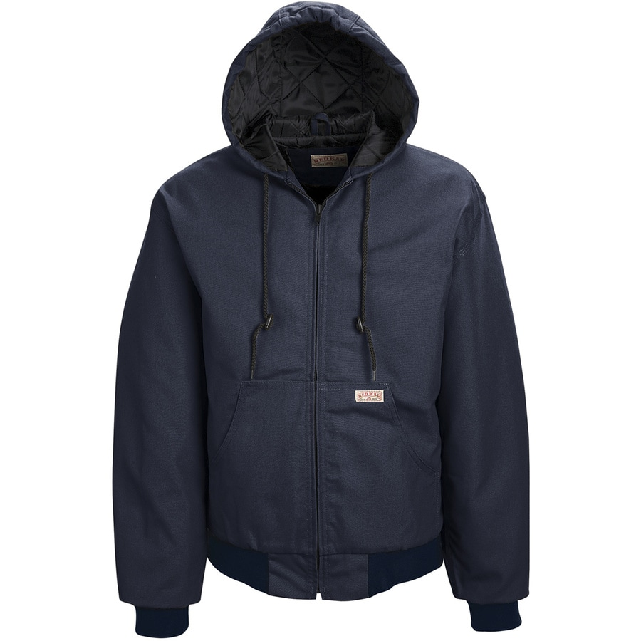 Red Kap Medium Unisex Navy Duck Work Jacket