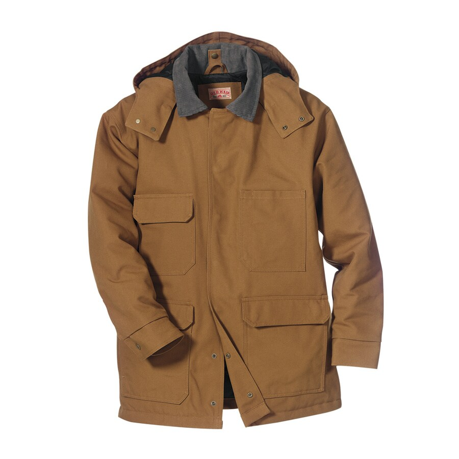 Red Kap XX- Large Unisex Brown Duck Work Jacket