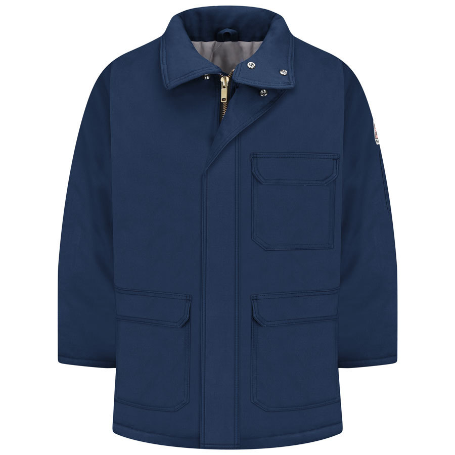 Bulwark Small Men's Navy Twill HRC 4 Parka