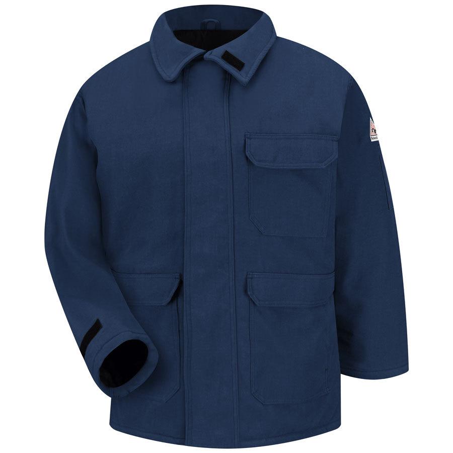 Bulwark Small Men's Navy Twill HRC 4 Parka