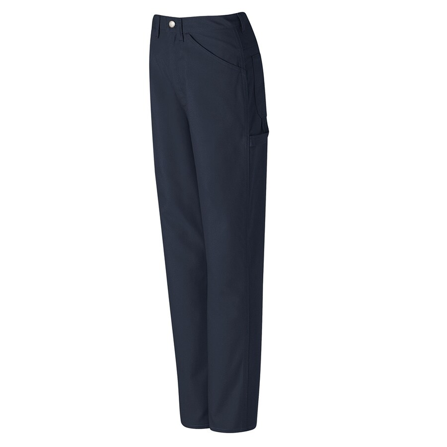Red Kap Men's 30 x 34 Navy Duck Jean Work Pants