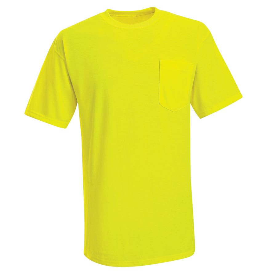 Red Kap Large Safety Green High Visibility T-Shirt