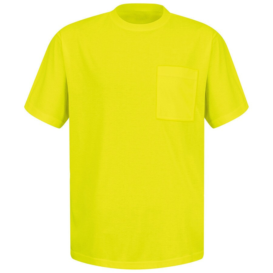 Red Kap XXX-Large Safety Green High Visibility (ANSI Compliant) T-Shirt