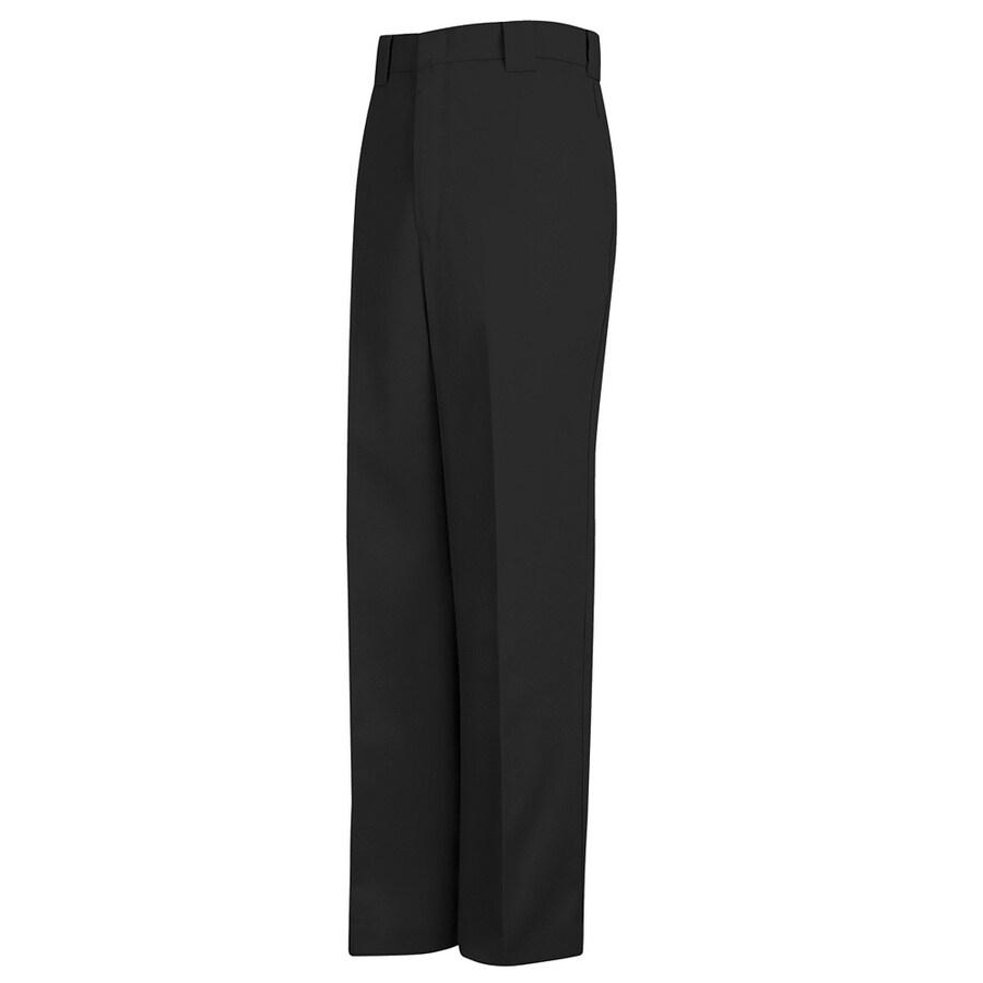 Red Kap Men's 28 x 32 Black Twill Uniform Work Pants