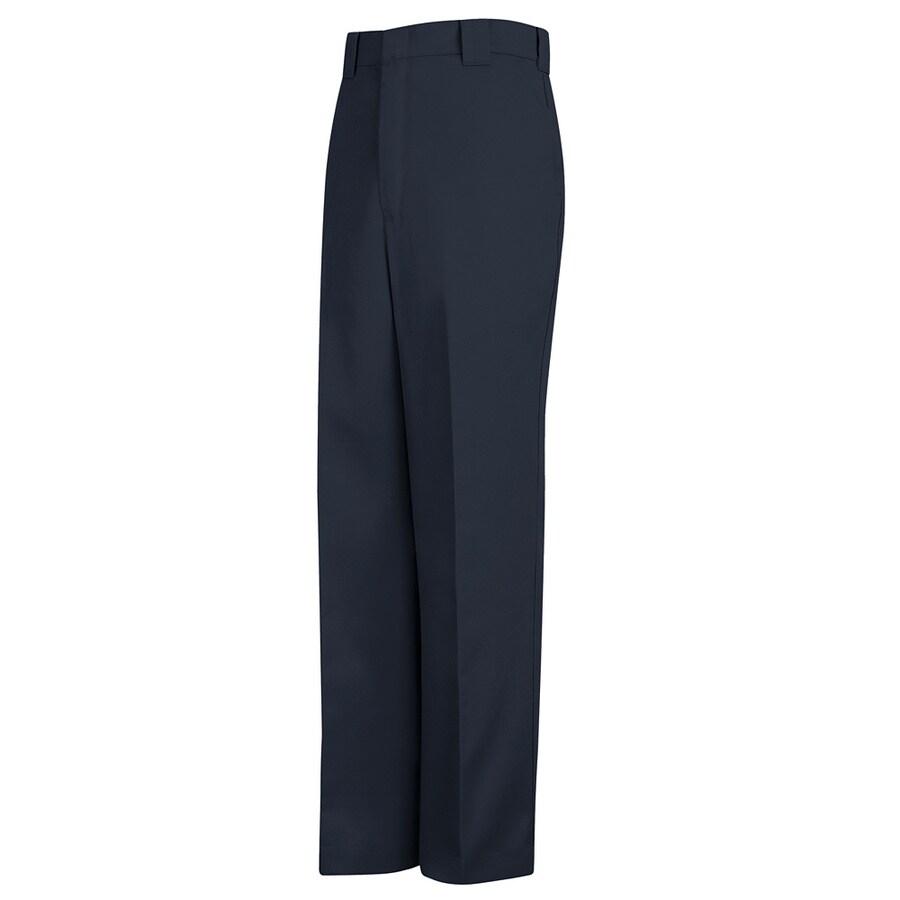 Red Kap Men's 34 x 32 Navy Twill Uniform Work Pants
