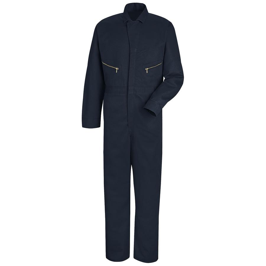 Red Kap 50 Men's Navy Long Sleeve Coveralls