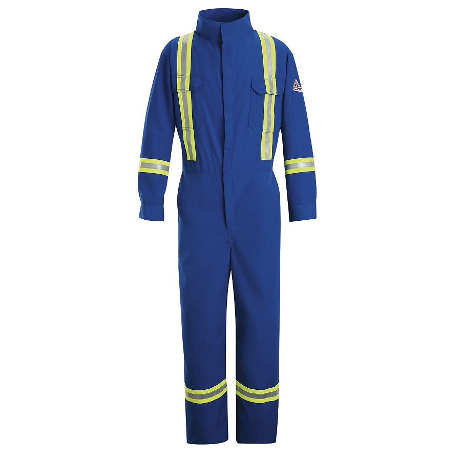Bulwark 48 Men's Royal Blue Long Coveralls