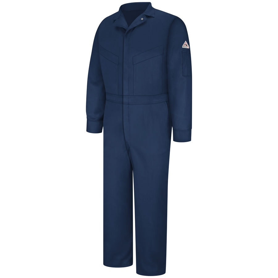 Bulwark 54 Men's Navy Long Coveralls