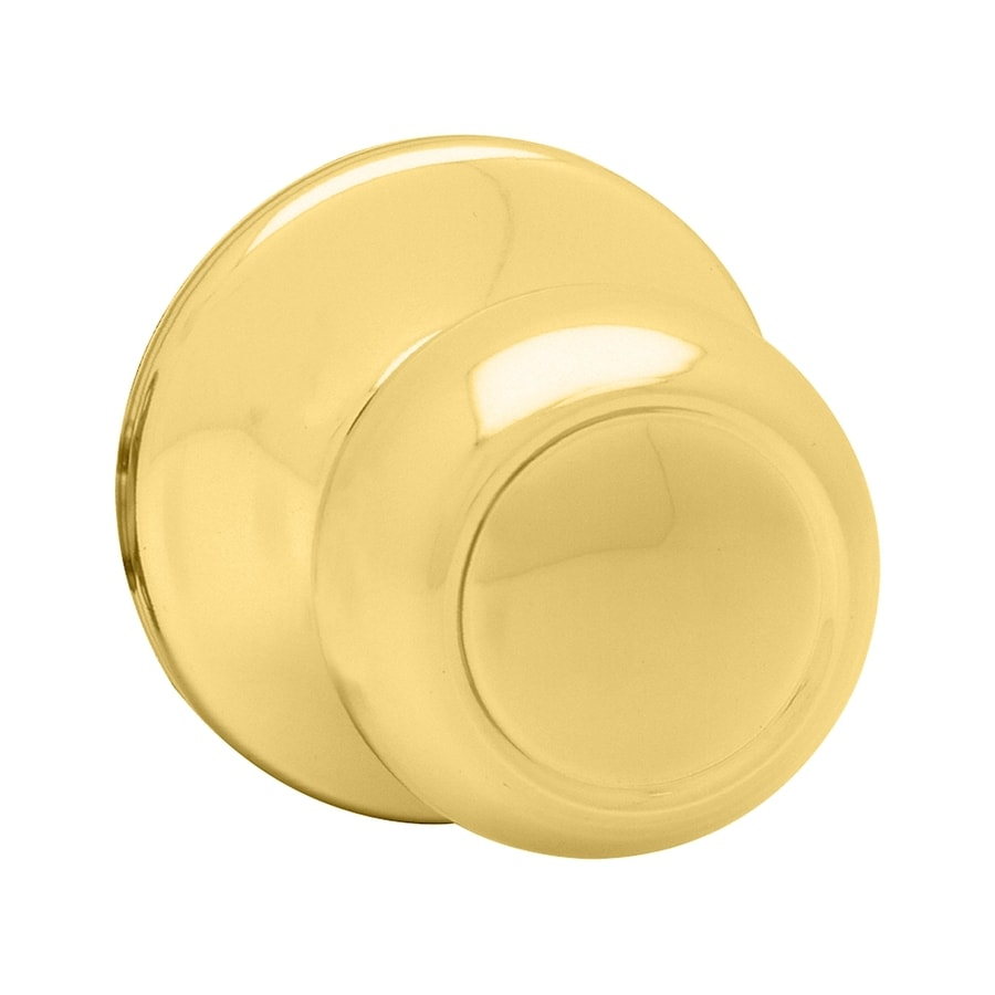 Kwikset Signature Copa Polished Brass Dummy Door Knob