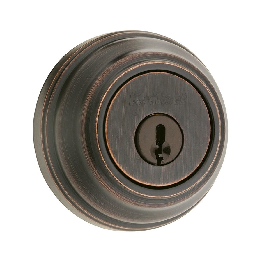 Kwikset Signature 985 Venetian Bronze Double-Cylinder Deadbolt