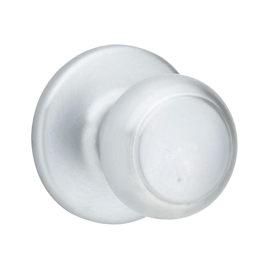 Kwikset Cove Satin Chrome Dummy Door Knob